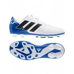 Adidas Nemeziz Messi 18.4 FxG J Fiú Gyerek Foci Cipő (Kék-Fehér) DB2369