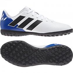 Adidas Nemeziz Messi Tango 18.4 TF J Fiú Gyerek Foci Cipő (Kék-Fehér) DB2401
