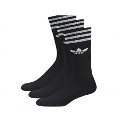 Adidas Originals Crew Socks 3PP 3 Páras Zokni (Fekete-Fehér) S21490