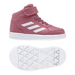 Adidas AltaSport Mid EL I Kislány Gyerek Cipő (Rózsaszín-Fehér) AH2551