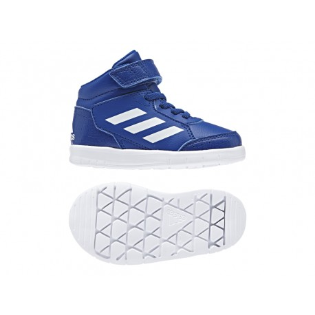 Adidas AltaSport Mid EL I Kisfiú Gyerek Cipő (Kék-Fehér) AH2552 8a225d718e