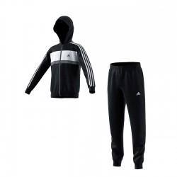 Adidas YB Cotton TS CH Fiú Gyerek Melegítő Együttes (Fekete-Szürke) DI0190
