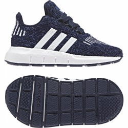 Adidas Originals Swift Run I Fiú Gyerek Cipő (Kék-Fehér) B37122