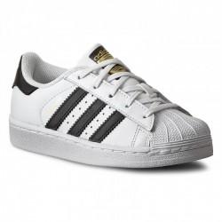Adidas Originals Uniszex Gyerek Cipő (Fehér-Fekete) BA8378