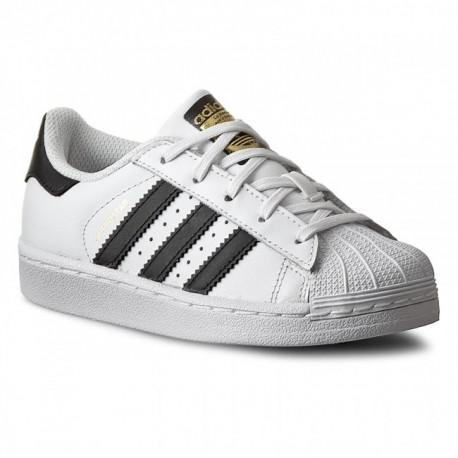 Adidas Originals Uniszex Gyerek Cipő (Fehér-Fekete) BA8378 e6d673f903