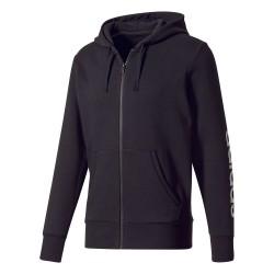 Adidas Essentials Linear FZ Hoodie Férfi Felső (Fekete) BR4058