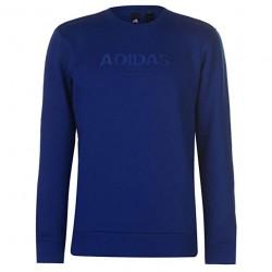 Adidas Essentials Allcap Crew Férfi Pulóver (Kék) CY6312