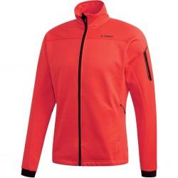 Adidas Stockhorn Fleece Jacket Férfi Kabát (Piros) CY8682