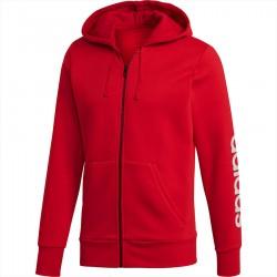 Adidas Essentials Linear Full Zip Hoodie Férfi Felső (Piros) CZ9012