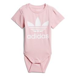 Adidas Originals I Trefoil Body Kislány Bébi Body (Rózsaszín-Fehér) D96071