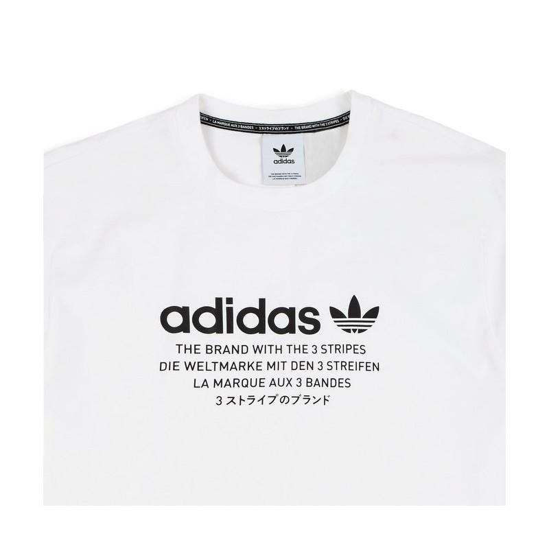 Adidas Originals NMD T-Shirt Férfi Póló (Fehér-Fekete) DH2288 38dfd873e1