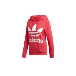 Adidas Originals Trefoil Hoodie Női Pulóver (Rózsaszín-Fehér) DH3136