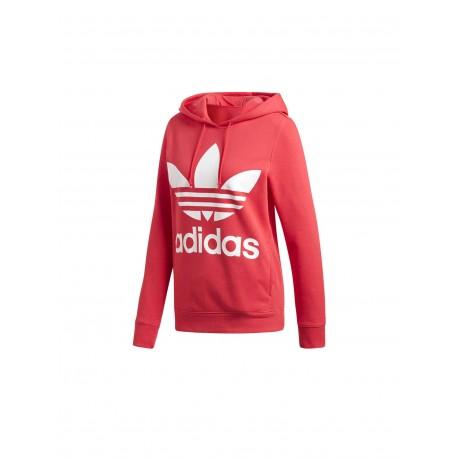 5eb5ff3ab98b Adidas Originals Trefoil Hoodie Női Pulóver (Rózsaszín-Fehér) DH3136