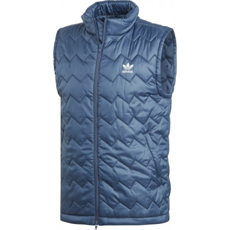 1a8c29f48d Adidas Originals SST Puffy Vest Férfi Mellény (Kék) DH5029