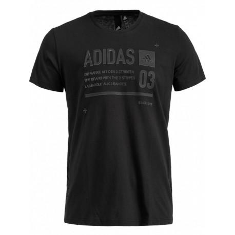Adidas Lineage ID Férfi Póló (Fekete) DI0297 b6b49562d0