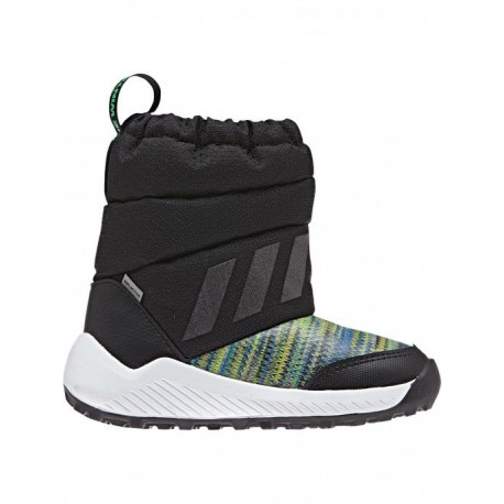Adidas RapidaSnow BTW I Fiú Gyerek Hótaposó (Fekete-Fehér-Színes) AH2606