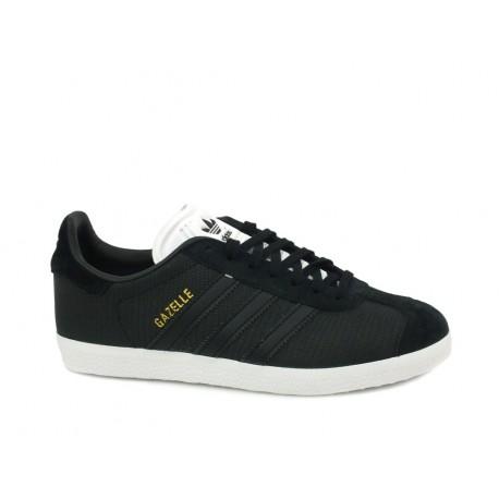 d3617a60525f Adidas Originals Gazelle Női Cipő (Fekete-Fehér) B41662