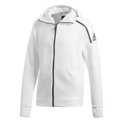 Adidas ZNE Fast Realese Hoodie Férfi Felső (Fehér-Fekete) CY9903