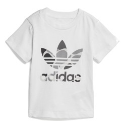 Adidas Originals I C Trefoil Tee Kisfiú Bébi Póló (Fehér) D96092