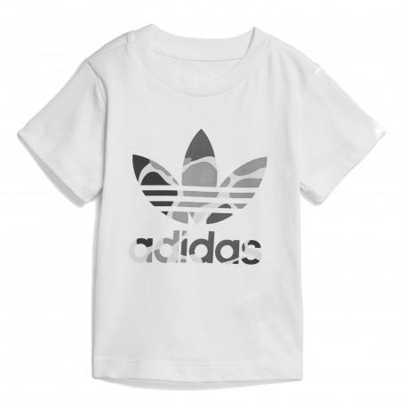 Adidas Originals I C Trefoil Tee Kisfiú Bébi Póló (Fehér) D96092 be49d8508a