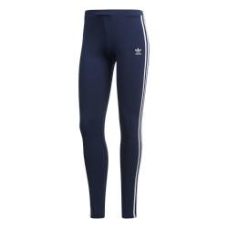 Adidas Originals 3 Stripes Leggings Női Leggings (Sötétkék-Fehér) DH3182