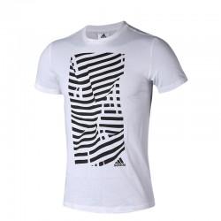 Adidas Juventus Graphic Tee Férfi Póló (Fehér-Fekete) CW8777