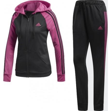 Adidas Re Focus Track Suit Női Melegítő Együttes (Fekete-Ciklámen) CY3517 02fb179cad