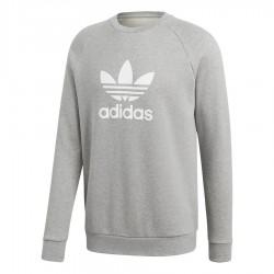 Adidas Originals Trefoil Crew Férfi Pulóver (Szürke-Fehér) CY4573