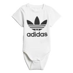 Adidas Originals I Trefoil Bodysuit Uniszex Bébi Body (Fehér-Fekete) D96070