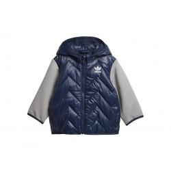 Adidas Originals Trefoil Midseason Jacket Kisfiú Bébi Kabát (Sötétkék) D96075