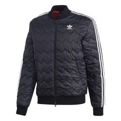 Adidas Originals SST Quilted Jacket Férfi Kabát (Fekete-Fehér) DH5008