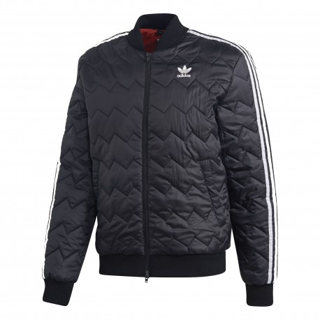 Adidas Originals SST Quilted Jacket Férfi Kabát (Fekete-Fehér) DH5008 8ae07bf1d0