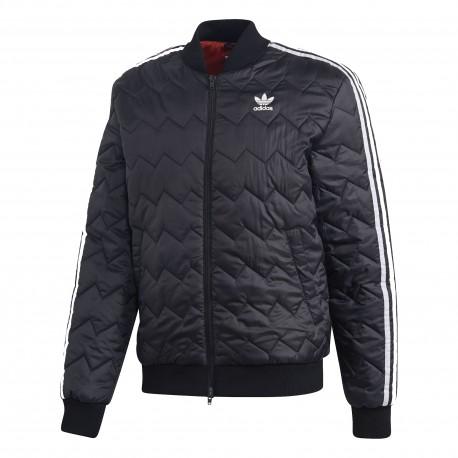 Adidas Originals SST Quilted Jacket Férfi Kabát (Fekete-Fehér) DH5008 5e641d0e5e