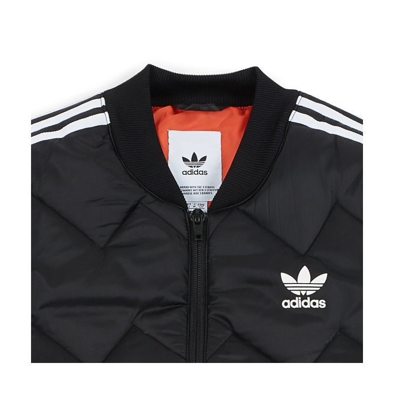 Adidas Originals SST Quilted Jacket Férfi Kabát (Fekete-Fehér) DH5008 8c47b14fcc