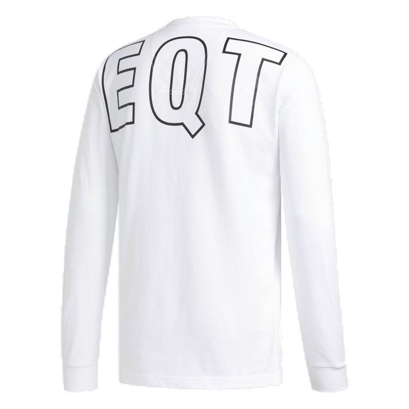 Adidas Originals EQT Graphic Tee Férfi Felső (Fehér-Fekete) DH5228 607cb82f28