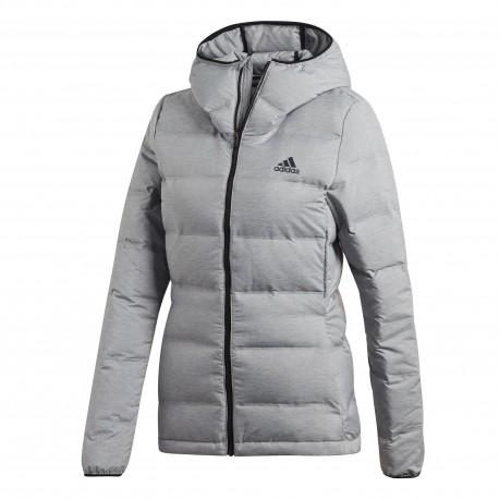 cdf0799eb9 Adidas W Helionic Melange Női Téli Kabát (Szürke-Fekete) CZ1385