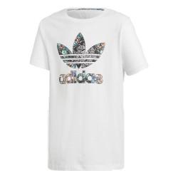Adidas Originals J Zoo Tee Kislány Gyerek Póló (Fehér-Színes) D98900