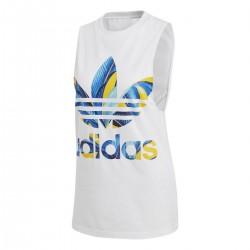 Adidas Originals Trefoil Tank Top Női Trikó (Fehér-Színes) DH3068