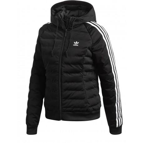 3b3f2111252f Adidas Originals Slim Jacket Női Kabát (Fekete-Fehér) DH4587