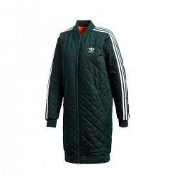 Adidas Originals Long Bomber Női Kabát (Fekete-Fehér) DH4592