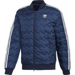 Adidas Originals SST Quilted Férfi Kabát (Kék-Fehér) DH5013
