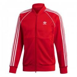 Adidas Originals SST Track Jacket Férfi Felső (Piros-Fehér) DH5824
