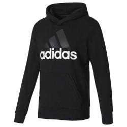 Adidas Essentials Linear Pullover Hoodie Férfi Pulóver (Fekete) S98772