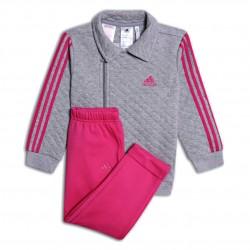 Adidas I Winter Jogger Kislány Bébi Melegítő Együttes (Szürke-Rózsaszín) DJ1555