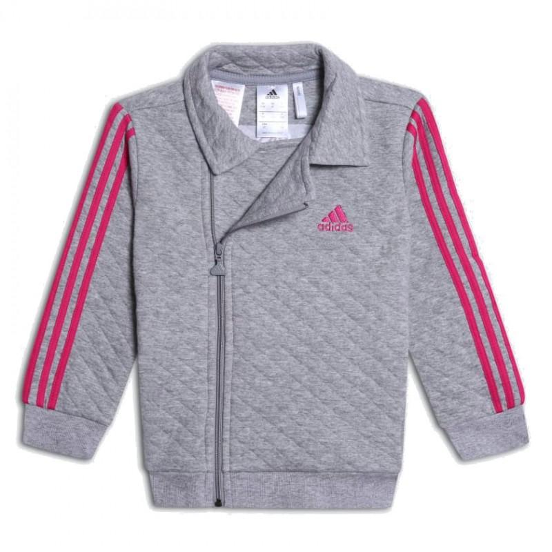 Adidas I Winter Jogger Kislány Bébi Melegítő Együttes (Szürke-Rózsaszín)  DJ1555 dd8925c6ae