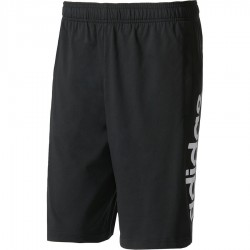 Adidas Essentials Linear Shorts Férfi Short (Fekete-Fehér) BS5026