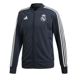 Adidas Real Madrid Jacket Férfi Felső (Fekete-Fehér) CW8636