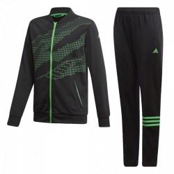 Adidas YB Training Track Suit Fiú Gyerek Melegítő Együttes (Fekete-Zöld) DI0186