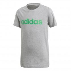 Adidas YB Linear Tee Fiú Gyerek Póló (Szürke-Zöld) DJ1765