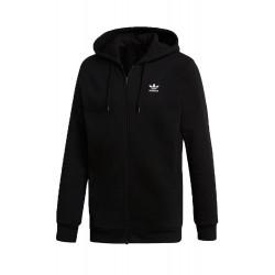 Adidas Originals Trefoil Fleece Hoodie Férfi Felső (Fekete-Fehér) DN6016